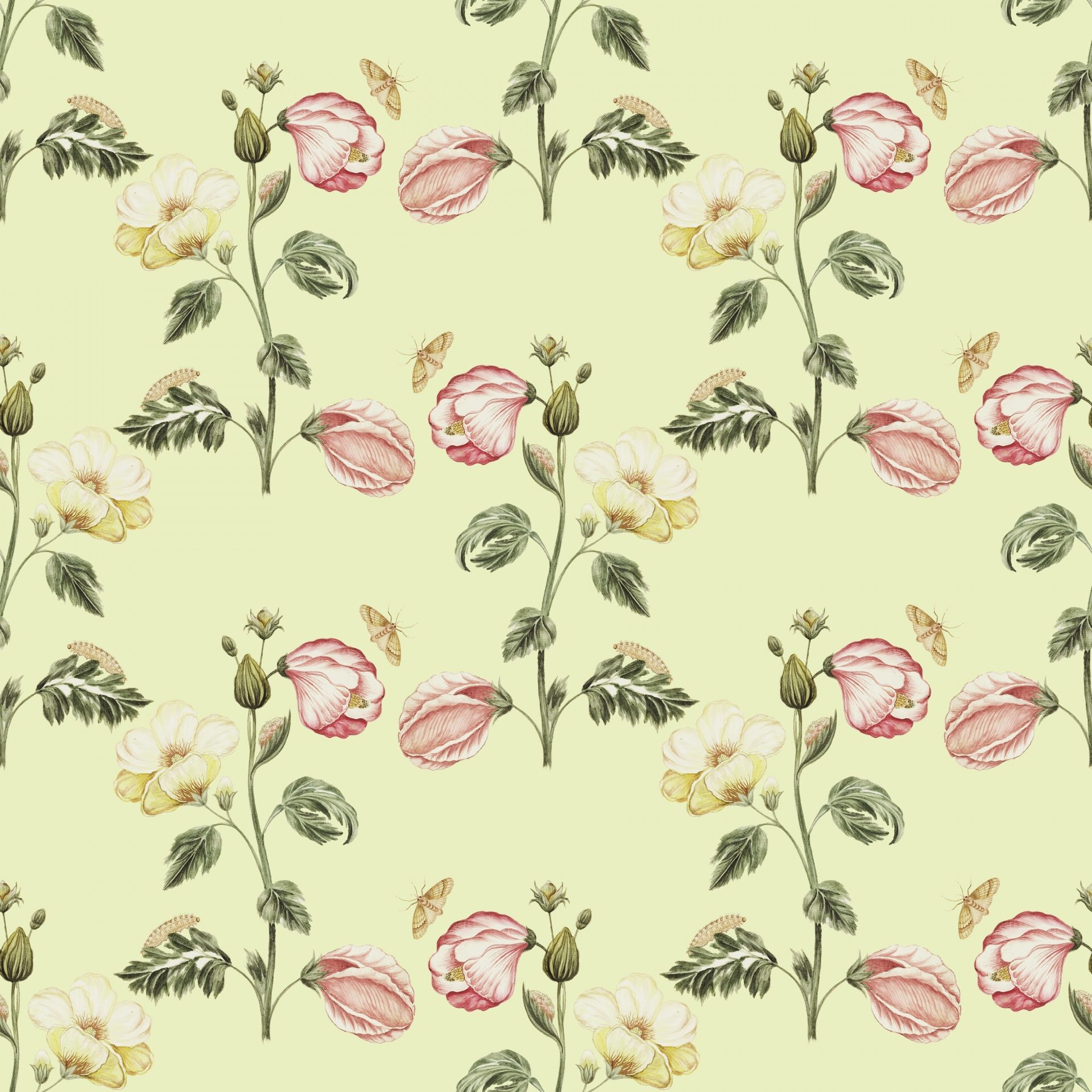 Vintage Floral Wallpaper Background Free Stock Photo Public Domain Pictures