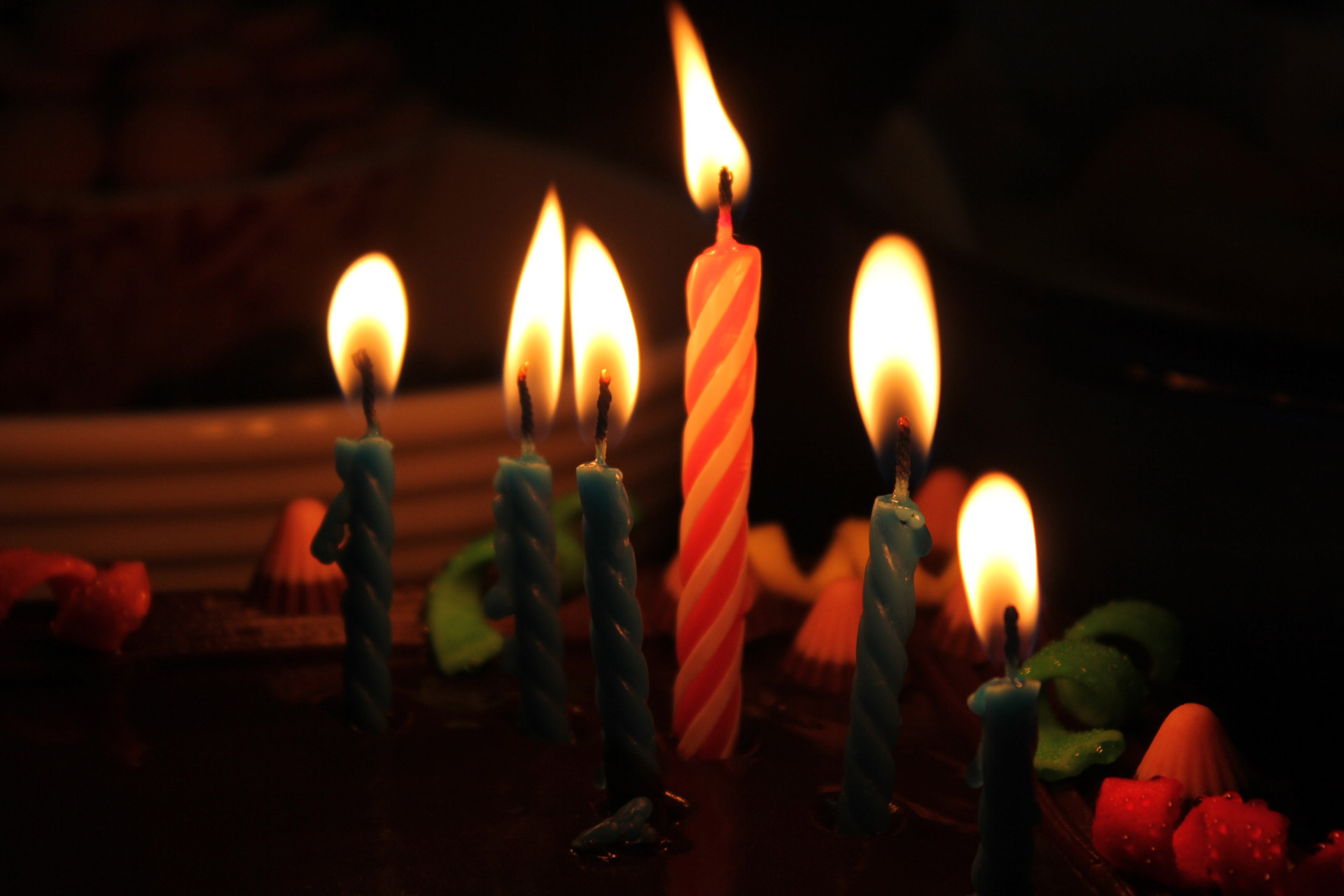 Birthday Candles 2 Free Stock Photo Public Domain Pictures