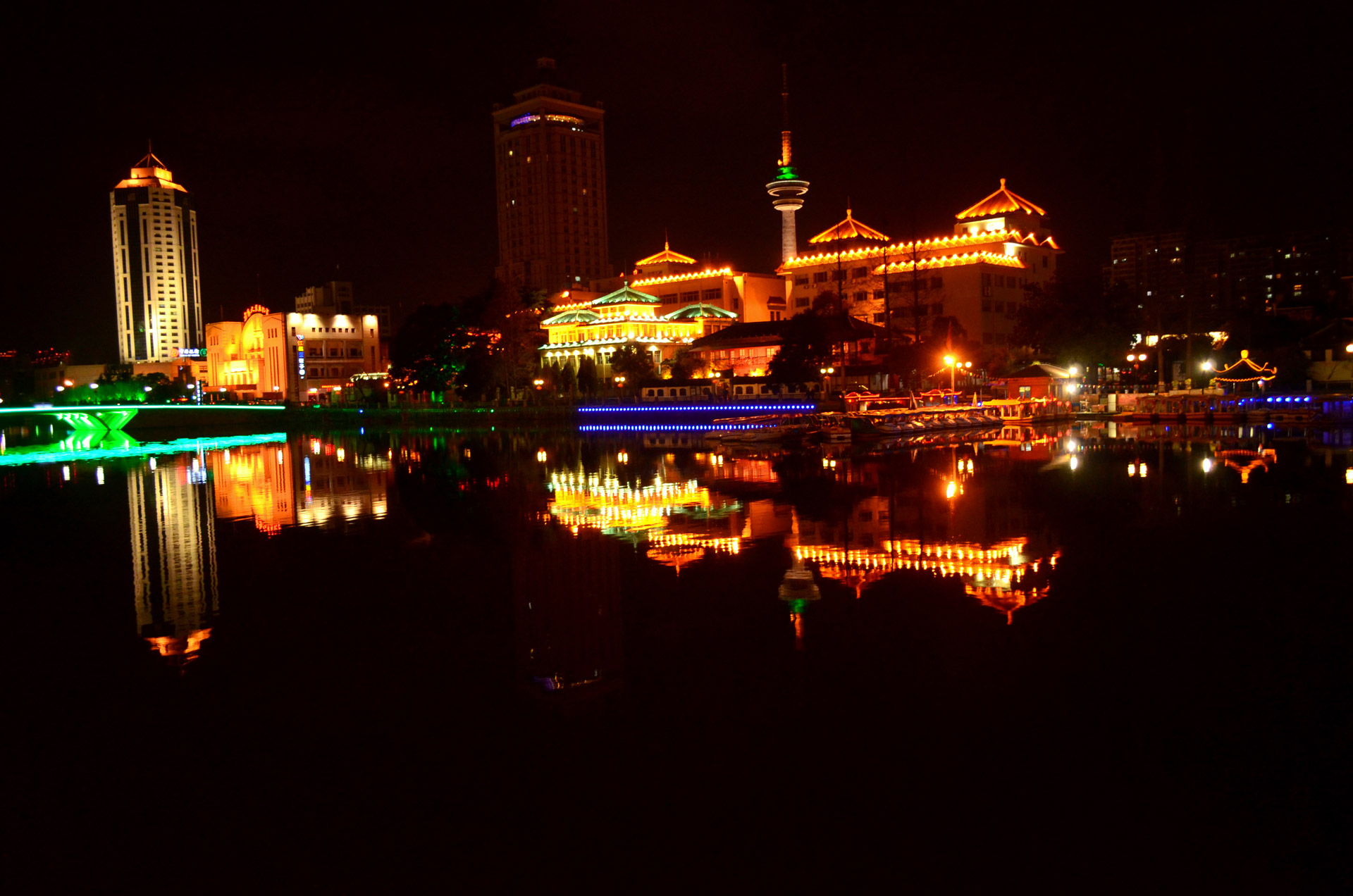 Night Lights, City Lights, Nantong
