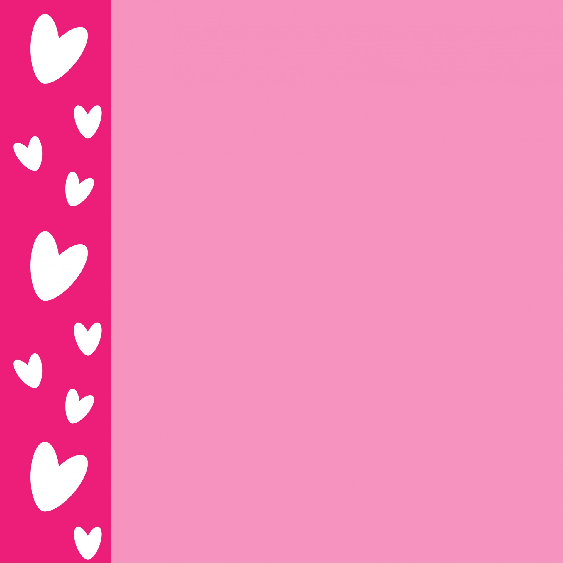 Pink Hearts Card Free Stock Photo Public Domain Pictures