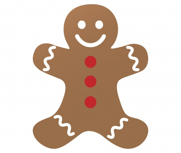 Gingerbread Art Man Clp