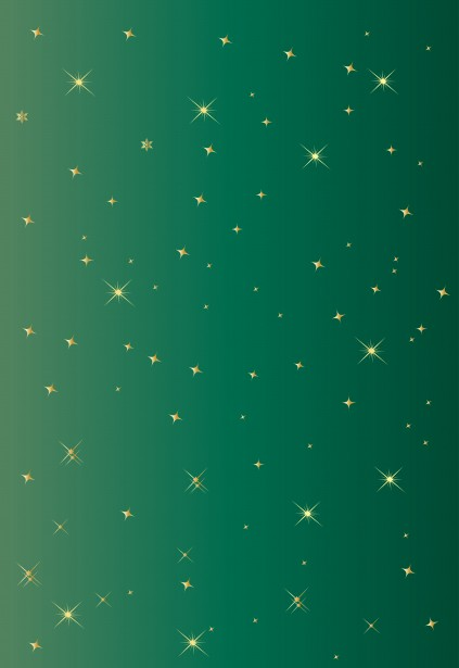 Green Background Gold Stars Free Stock Photo Public