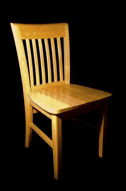 Wooden Kitchen Chair Stock Public
