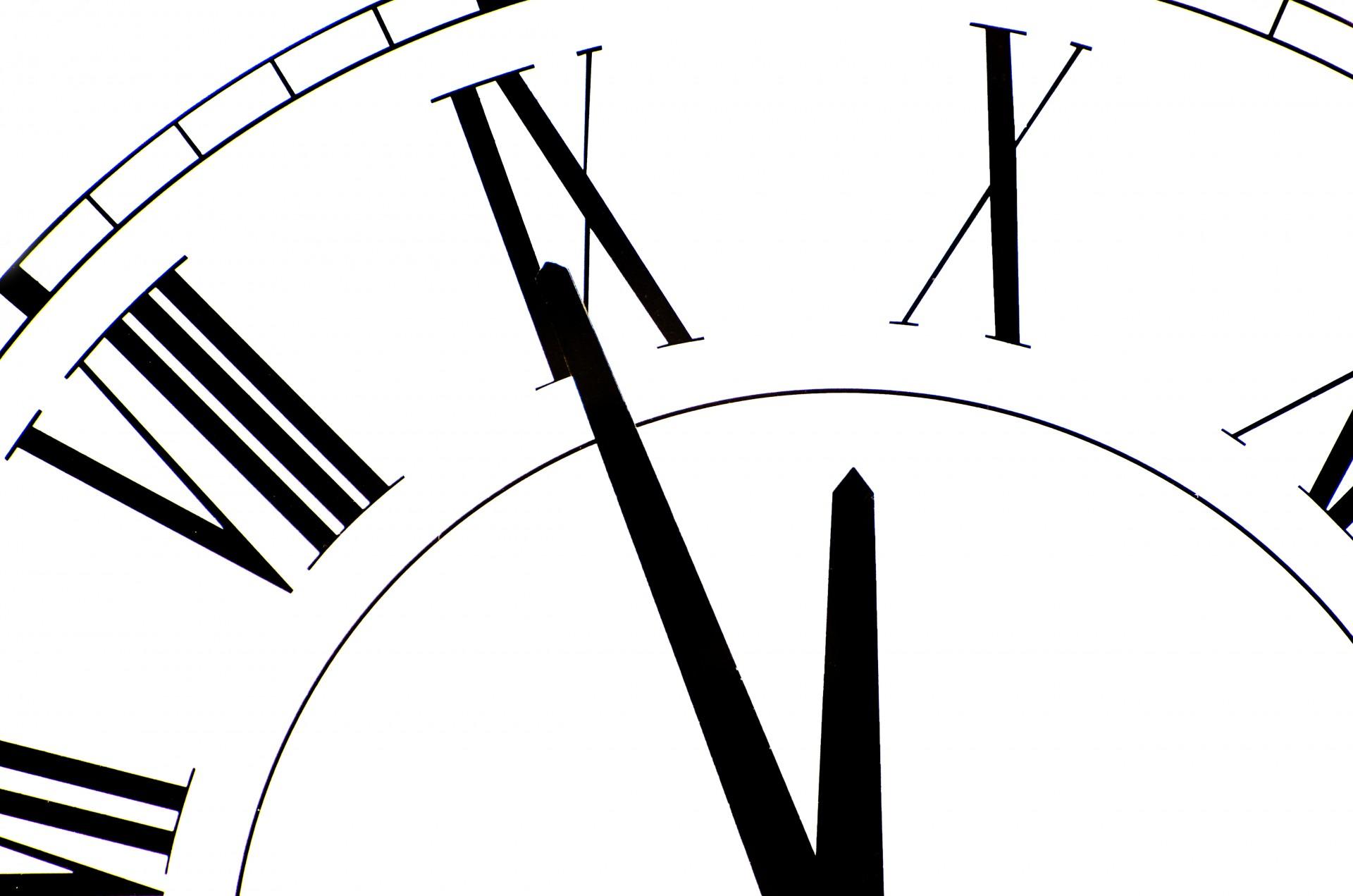 Clock Free Stock Photo