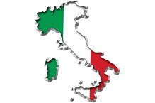 Image result for italy on map
