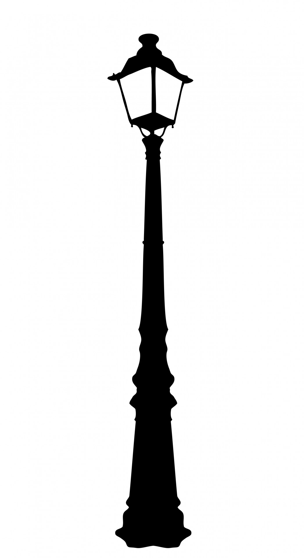 Vintage Street Lamp Clipart Free Stock Photo