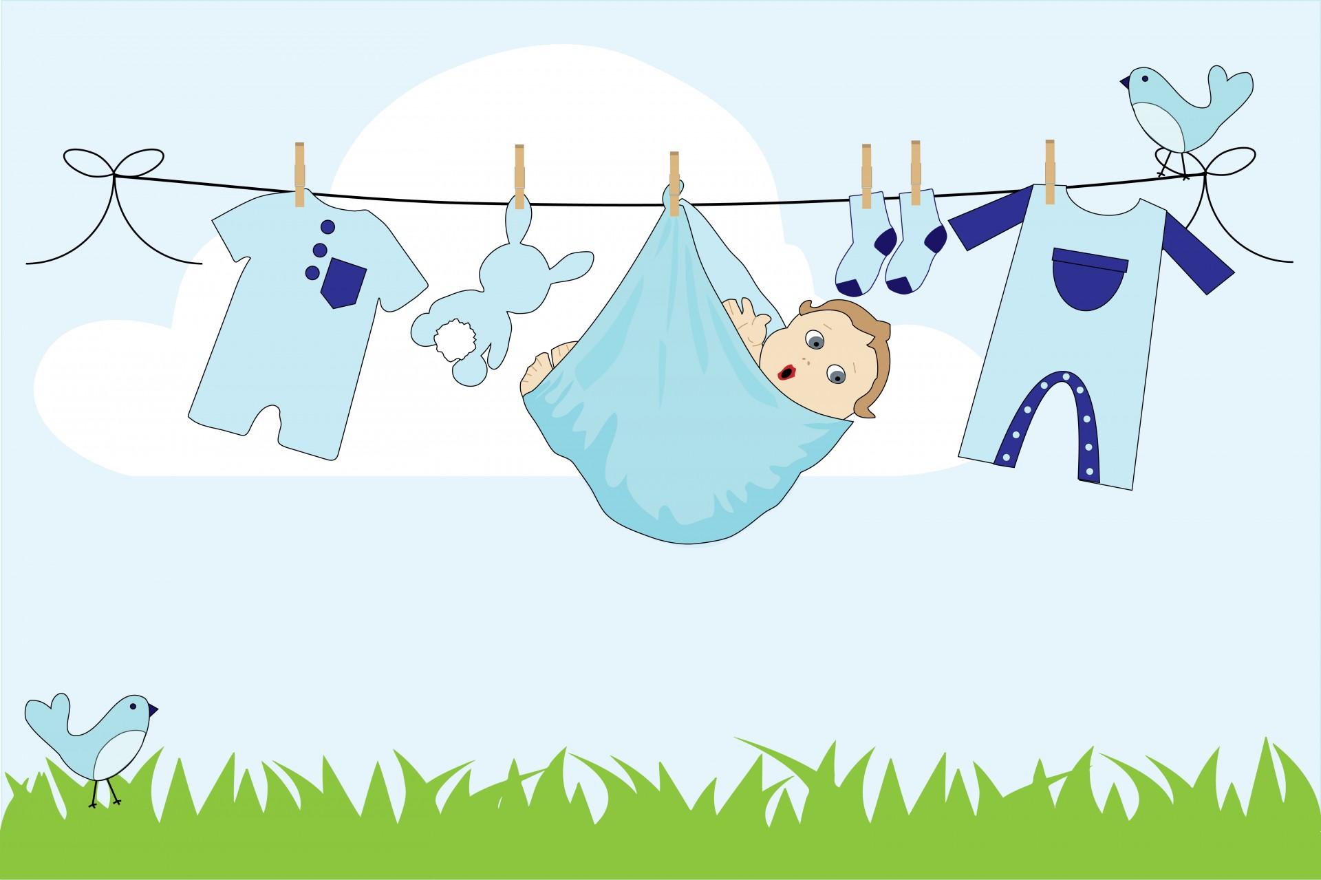Baby Boy Clothes Line Free Stock Photo - Public Domain ... (1920 x 1279 Pixel)