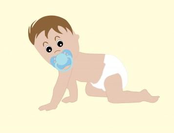 Bebé en pañales Stock de Foto gratis - Public Domain Pictures