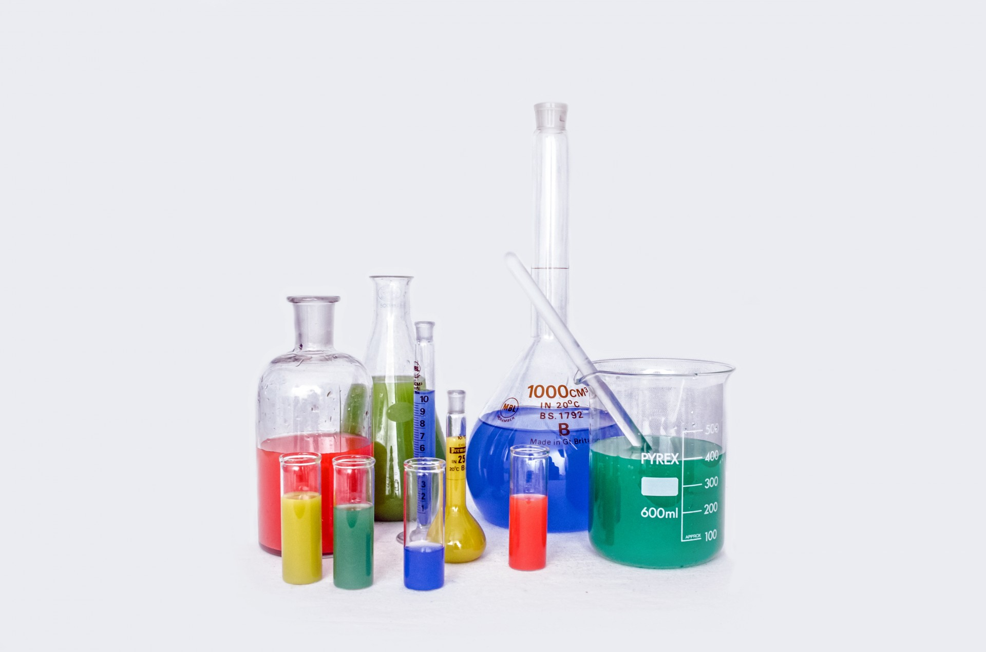 Laboratory Glassware Free Stock Photo