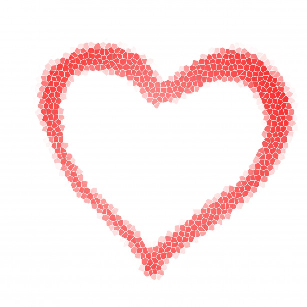 Mosaic Love Heart Free Stock Photo Public Domain Pictures