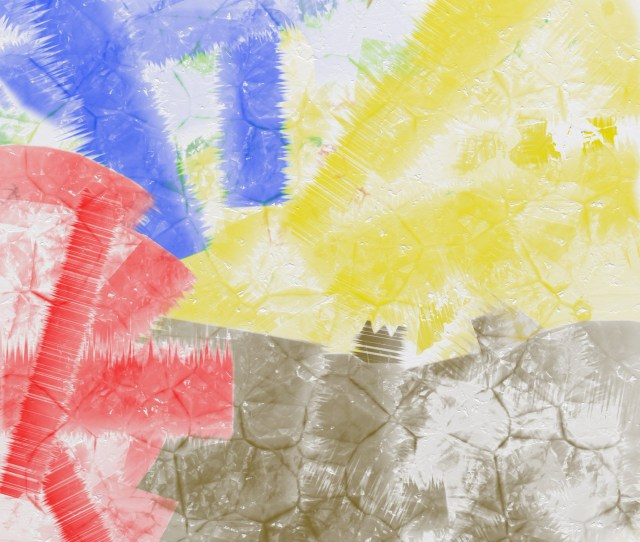 Abstract Paint Effect