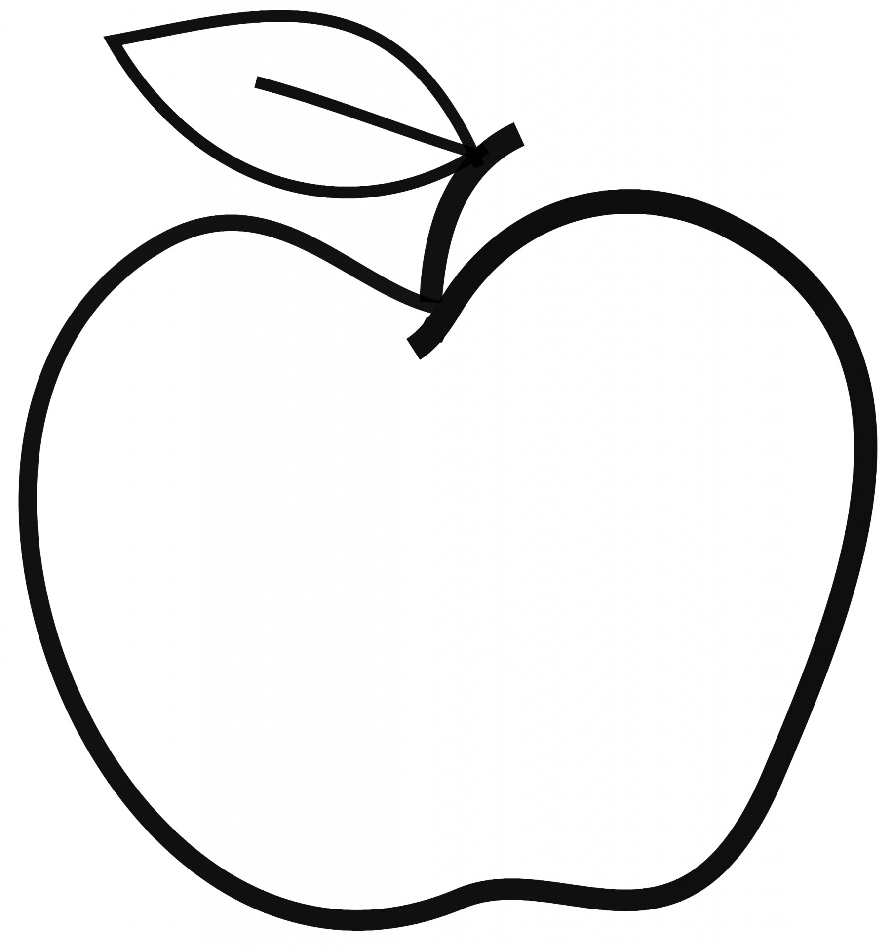 Apple Clip Art Free Stock Photo