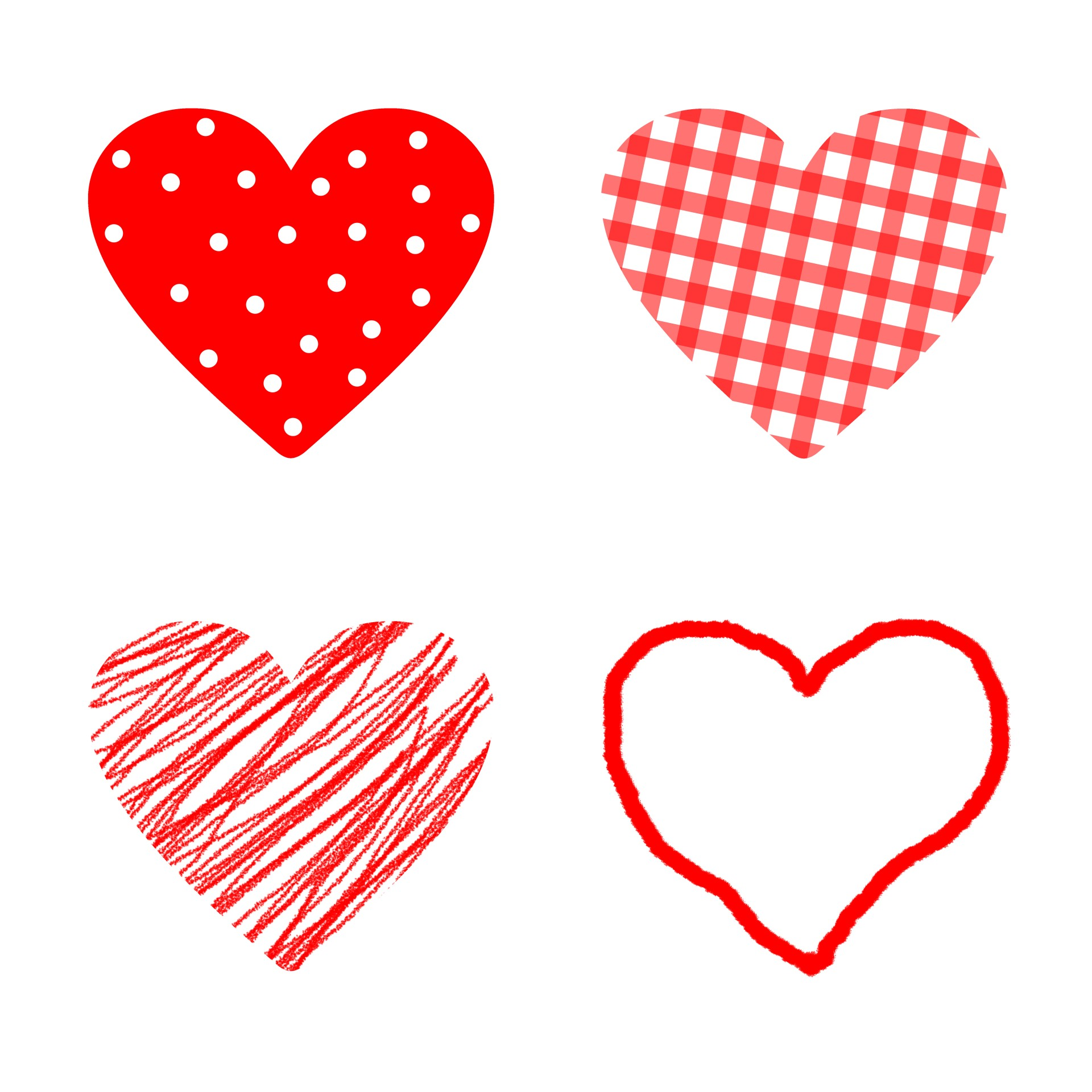 Pattern Hearts Free Stock Photo Public Domain Pictures