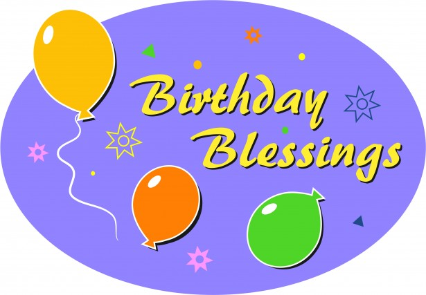 Birthday Blessings Clip Art Free Stock Photo Public Domain Pictures