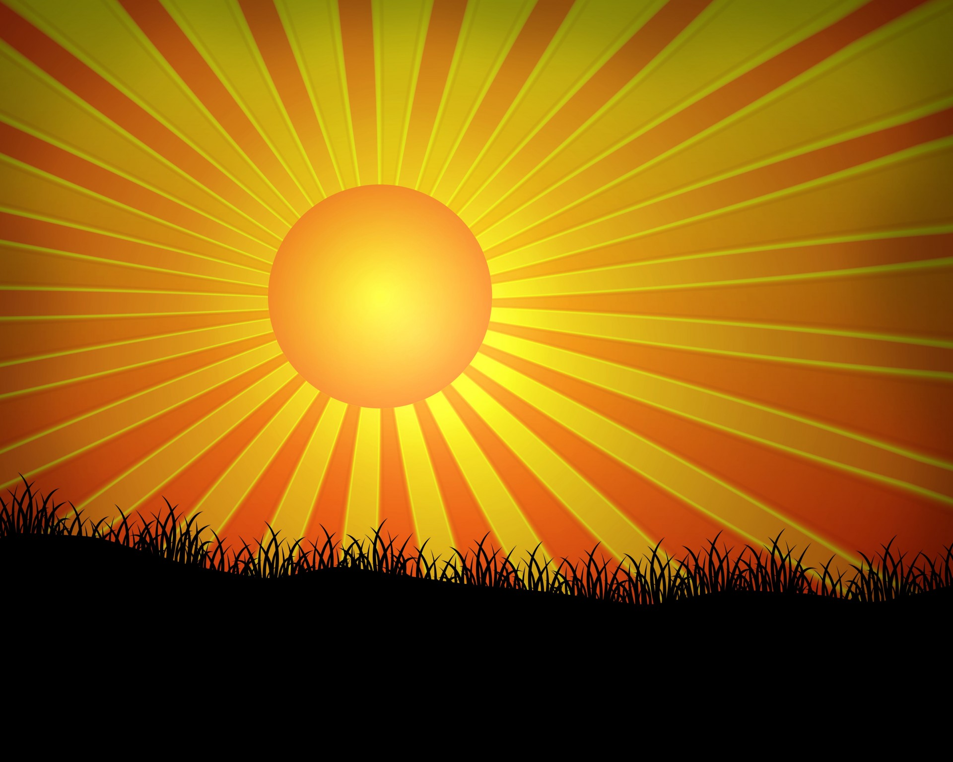Ray Of Sunshine Clipart