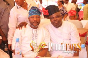 Hon. Kunle Akinlade and a Guest