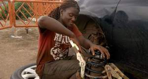 Blessing The Female Mechanic