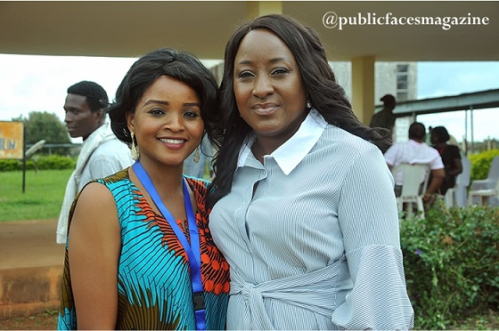 Ireti Doyle and Adebola Solate