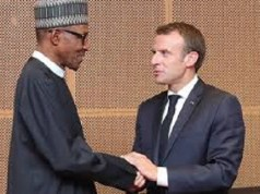 Emmanuel Macron and Buhari
