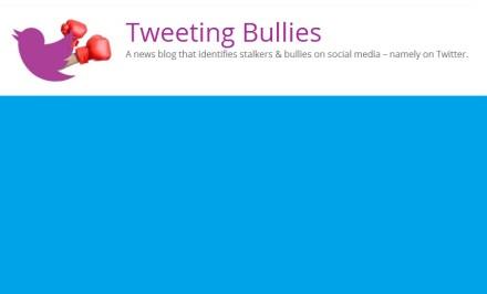 tweeting bullies logo