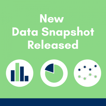 New data snapshot released with icons of different types of charts