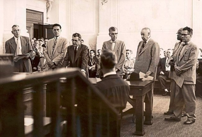 Racketeering trial of Jim Elkins and other alleged conspirators Oregon Historical Society Oregon Journal Collection