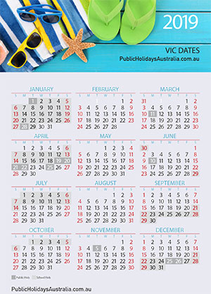 VICTORIA School Term Dates And School Holidays 2019
