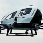 En video: El primer vuelo con pasajeros de un taxi dron