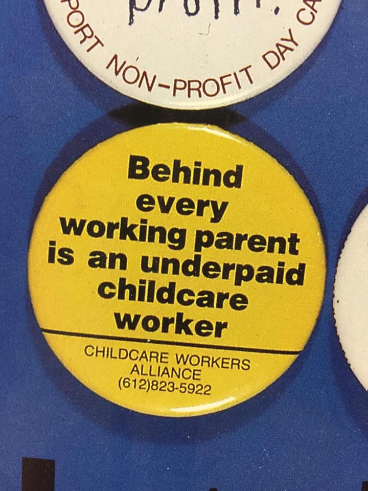 Childcare Workers Deserve Justice!