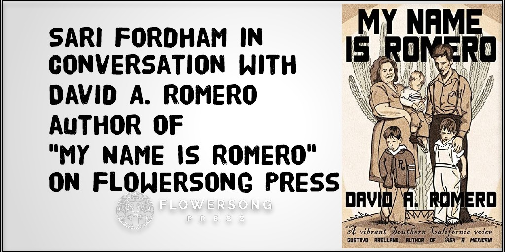"An interview with David A. Romero author of ""My Name Is Romero"""