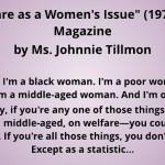 Ms. Johnnie Tillman