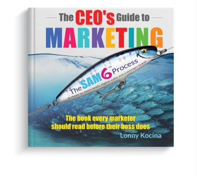 The CEO's Guide to Marketing book cover