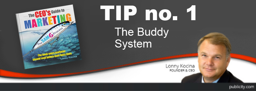 The CEO's Guide to Marketing Tip: Use the buddy system to fast-track your marketing career