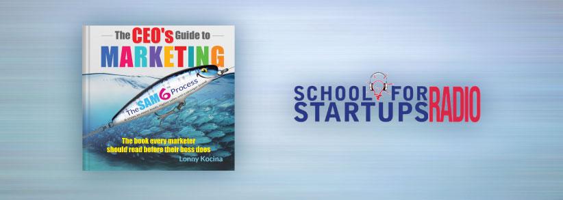 School for Startups' Jim Beach has fun interviewing CEO Lonny Kocina