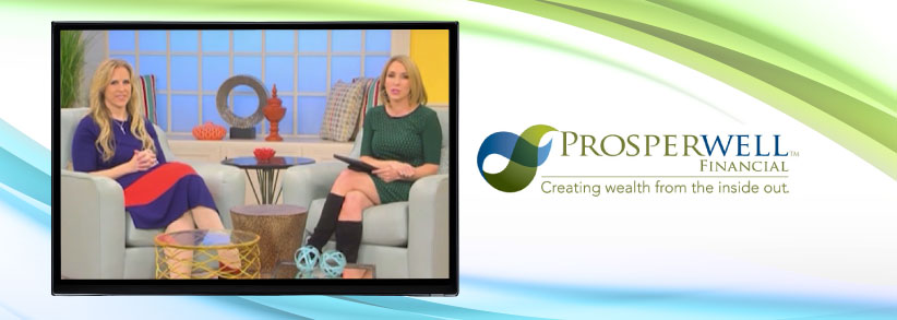 Entrepreneur promotes business in TV interview about her new book
