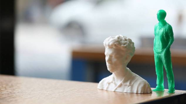 3d scanned image of person from Break the Mould jubilee library brighton