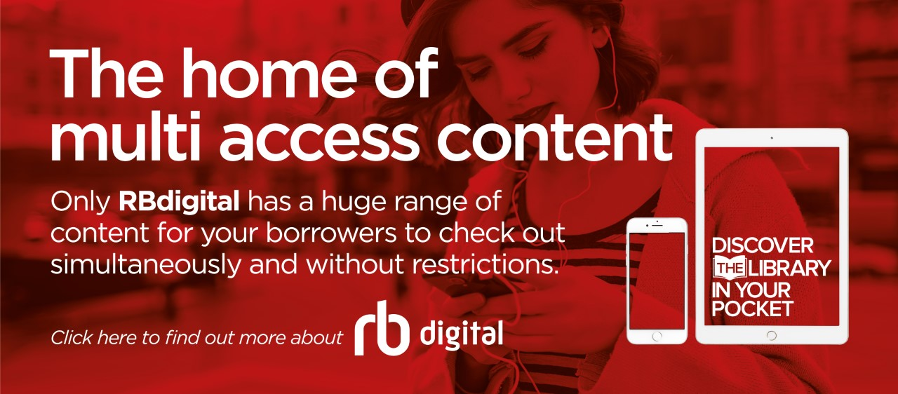 Advertisment for RB Digital - Home of multi access content