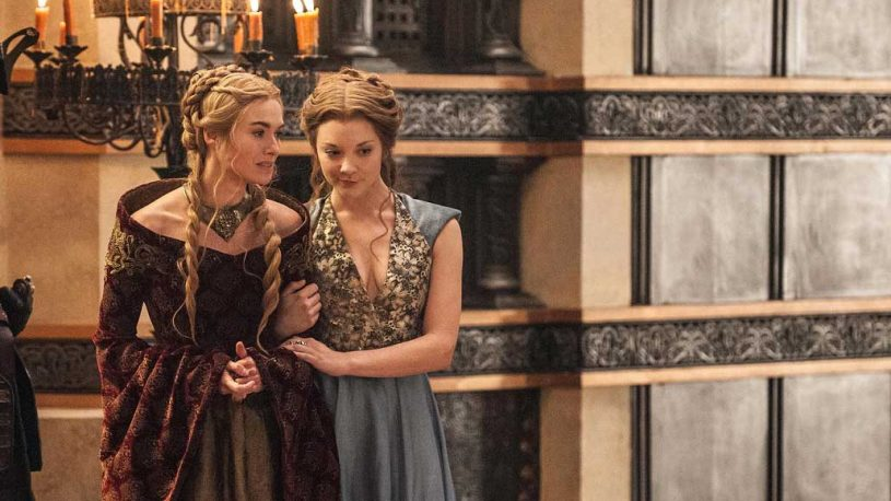 Cersei Lannister and Margaery Tyrell discussing how they are going to kill each other.