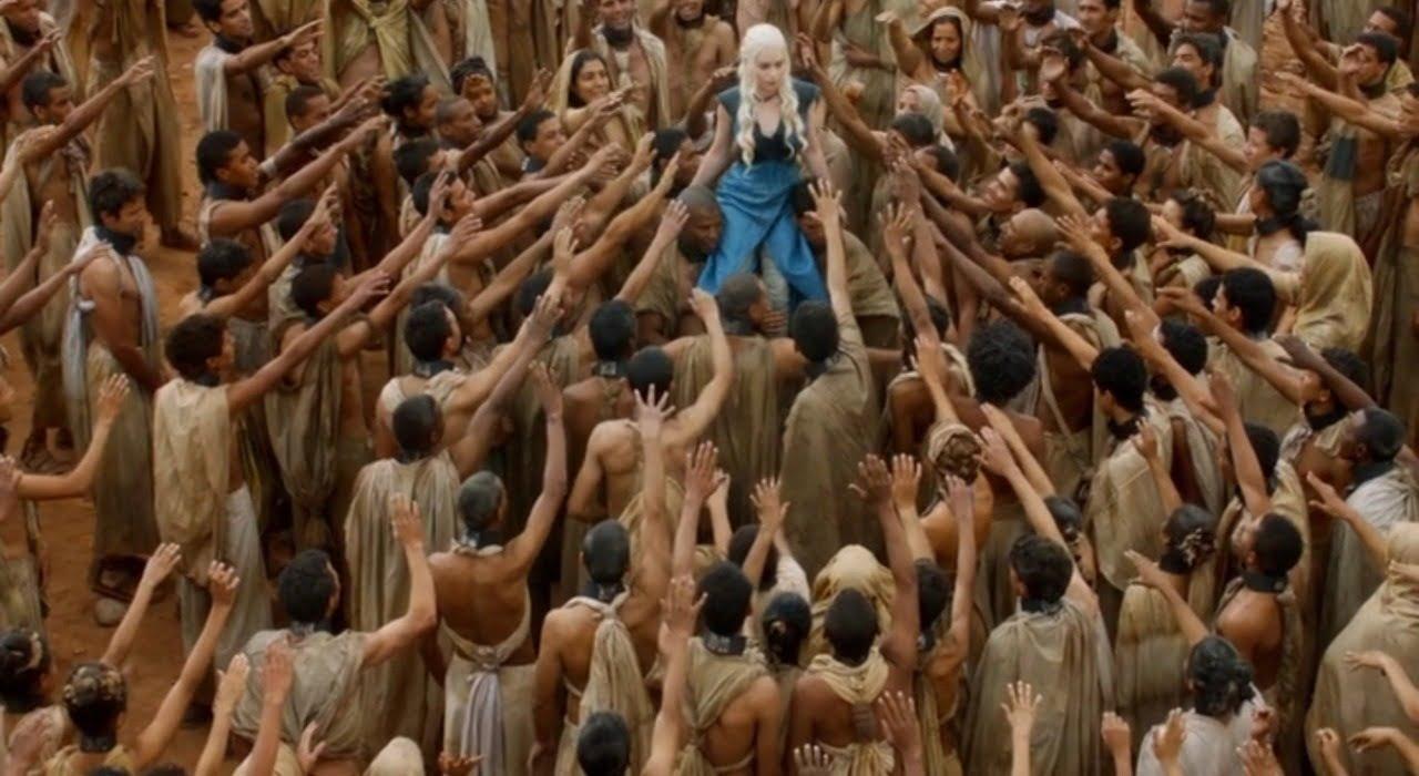 Image result for daenerys white saviour