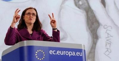 Cecilia Malmström, comisaria de Comercio, en una imagen de archivo. REUTERS.