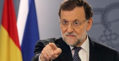 El presidente del Gobierno, Mariano Rajoy, durante la comparecencia./ EFE