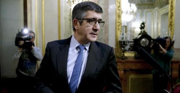 El presidente de la Mesa del Congreso, Patxi López. EFE/Sergio Barrenechea