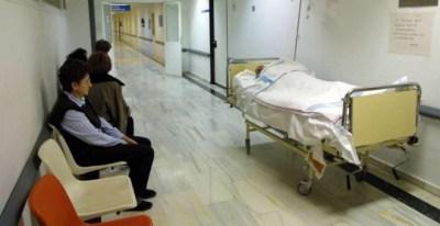 Vista del pasillo de un hospital. EFE