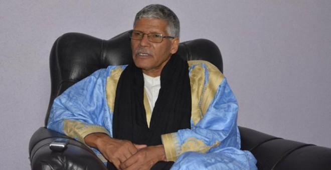 El primer ministro de la República Árabe Saharaui Democrática, Abdelkader Taleb Omar.- VIRGINIA UZAL