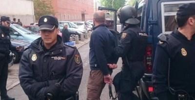 Una de las detenciones /EUROPA PRESS (Jesús Montero)