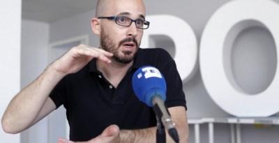 El responsable económico de Podemos, Nacho Álvarez. EFE/Isabel Muñoz Torres