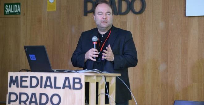 Lutz Kinkel, director del Centro europeo para el pluralismo informativo y la libertad de prensa. PDLI