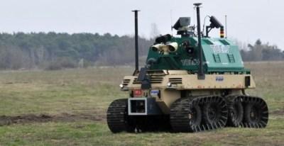El robot de control de fronteras de Talos, uno de los proyectos que ha recibido financiación comunitaria.