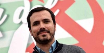 El coordinador general de IU, Alberto Garzón. - EFE