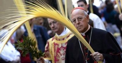 El cardenal Ricardo Blázquez, presidente de la Conferencia Episcopal Española, en una imagen de archivo. EFE